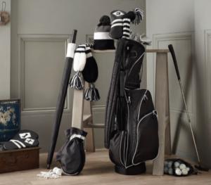Personnalisation d'accessoires de golf