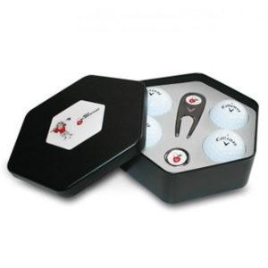 Personnalisation de boîtes de balles de golf