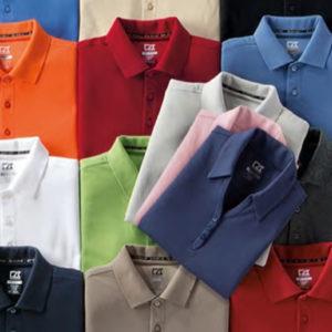 Personnalisation de vêtements de golf