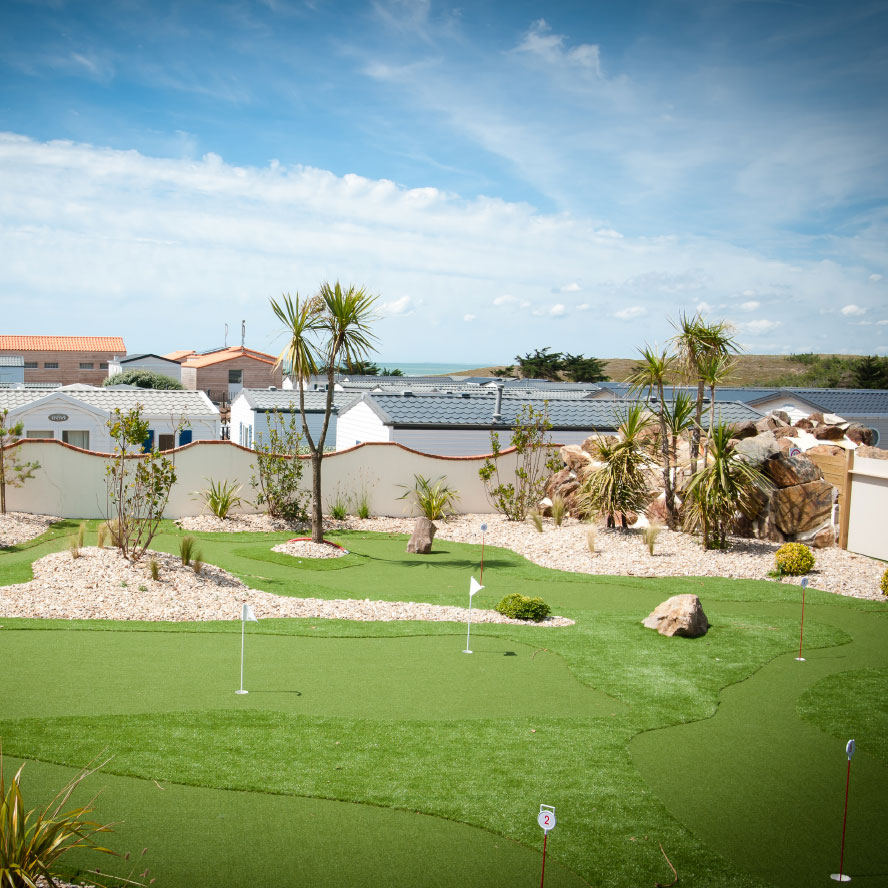 Aménagement paysager Mini-Golf